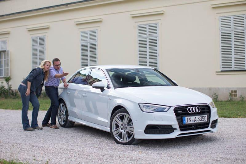 Design der Audi A3 Limousine - Video 1