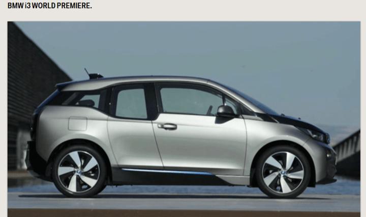 BMW i3 Welt-Premiere - erste Fotos 1