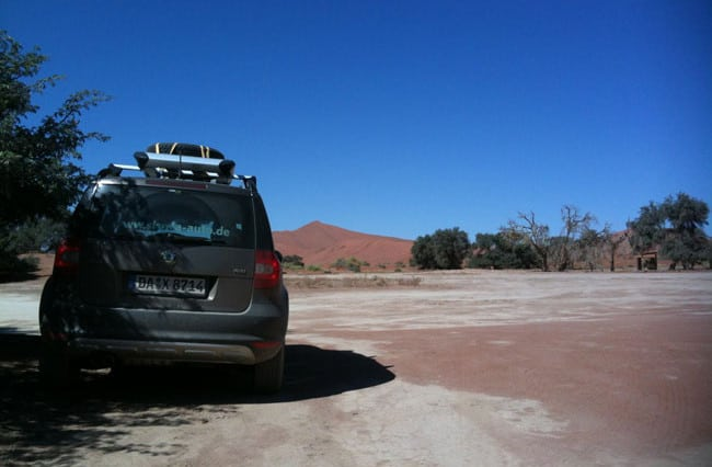 Die schönste Tour in Namibia mit dem Yeti 4