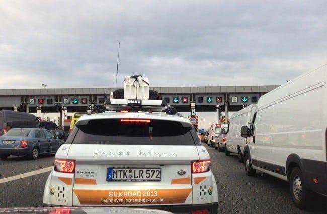 Etappe 1: Berlin-Krakau der Land Rover Experience Tour Seidenstraße 2