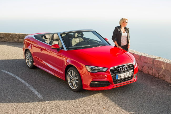 audi a3 cabrio wer a sagt muss auch a3 fahren auto diva autoblog. Black Bedroom Furniture Sets. Home Design Ideas