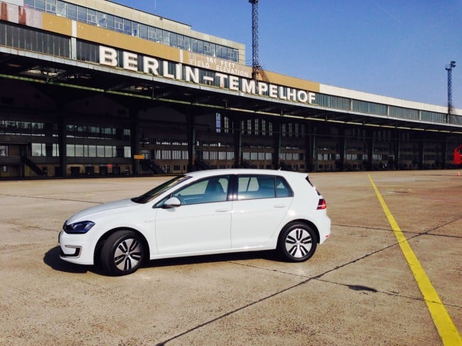 e-Golf in Berlin Tempelhof