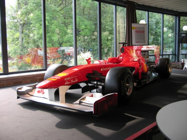 Ferrari Formel-1-Auto