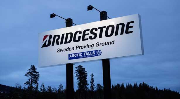 Bridgestone Testgelände in Schweden