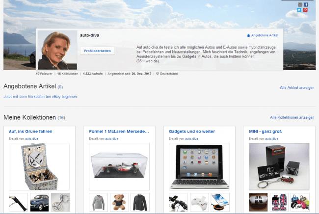 eBay-Kollektionen auto-diva