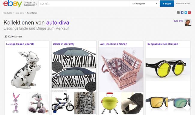 auto-diva ebay-kollektionen