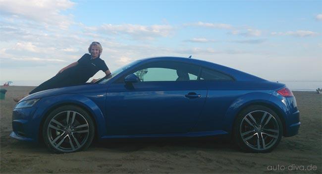 Audi TT und Auto-Diva