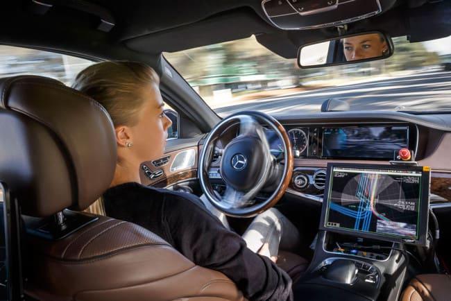 Mercedes-Benz Autonomes Fahren