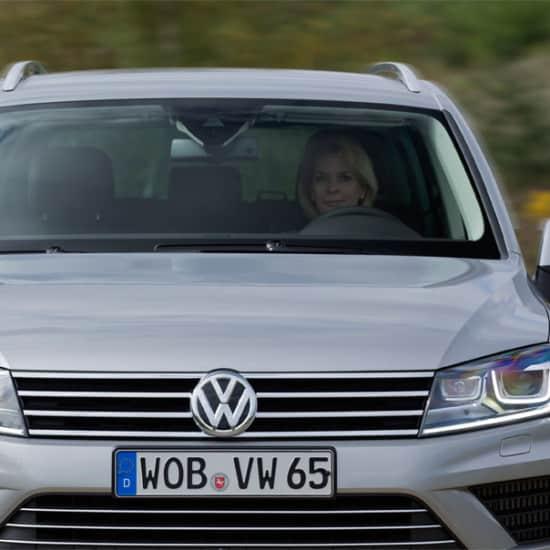 VW Touareg Blitzerfoto