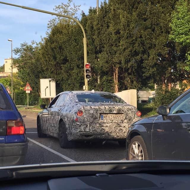 Erlkönig - schon wieder! Ein BMW - Autofoto 2
