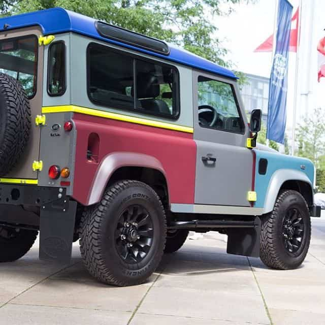 Paul Smith Landrover Defender