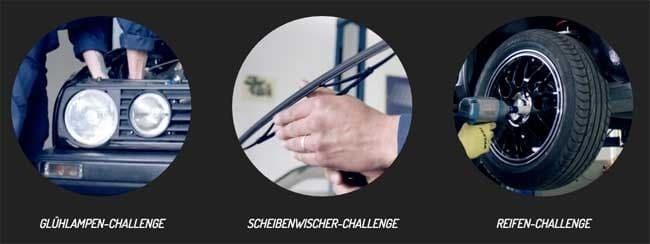 Challenges bei Mr. Rasch