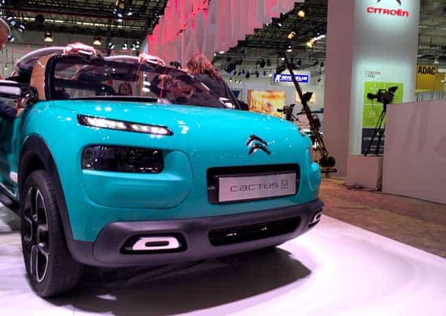Mein Highlight der IAA 2015: Citroën Concept Car 1