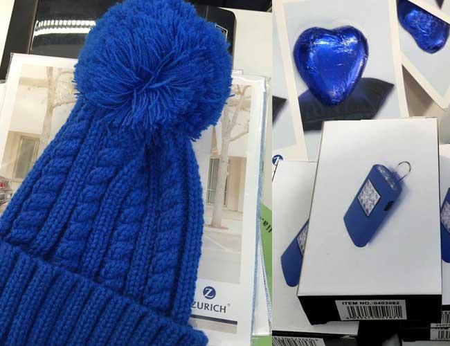 Zurich Mütze und Giveaways