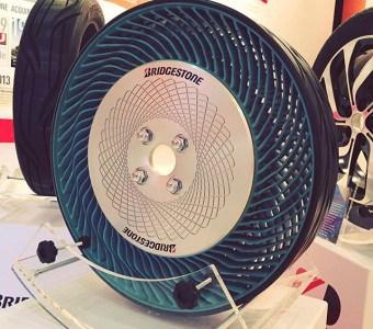 Bridgestone Air-Free Concept Tyres – Luftlose Reifen
