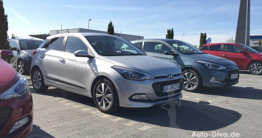 Hyundai i20 Active blue 1.0 T-GDI