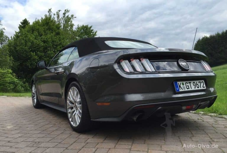 Ford Mustang Convertible ab 2015