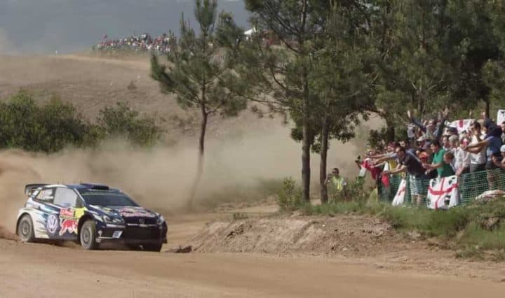 VW Polo R WRC: Rallye Deutschland VIP-Trip 1