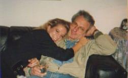 Nicole und Papa