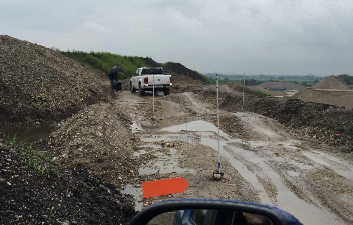 Amarok V6 im Gelände