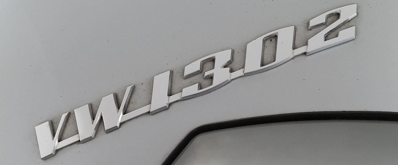 VW Käfer 1302 Typenschild