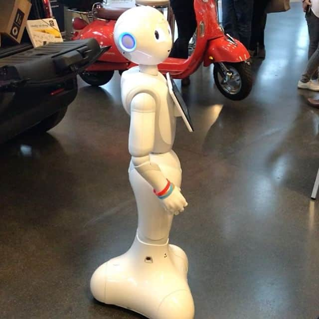 Pepper, humanoider Roboter