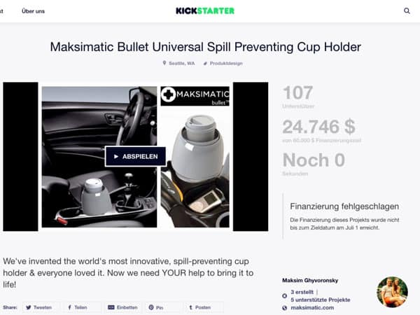 Kickstarter Maksimatic