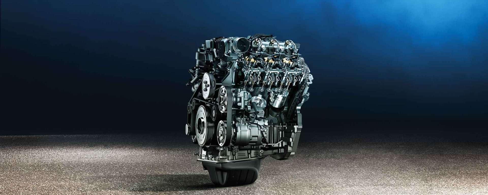 VW Amarok V6 Motor