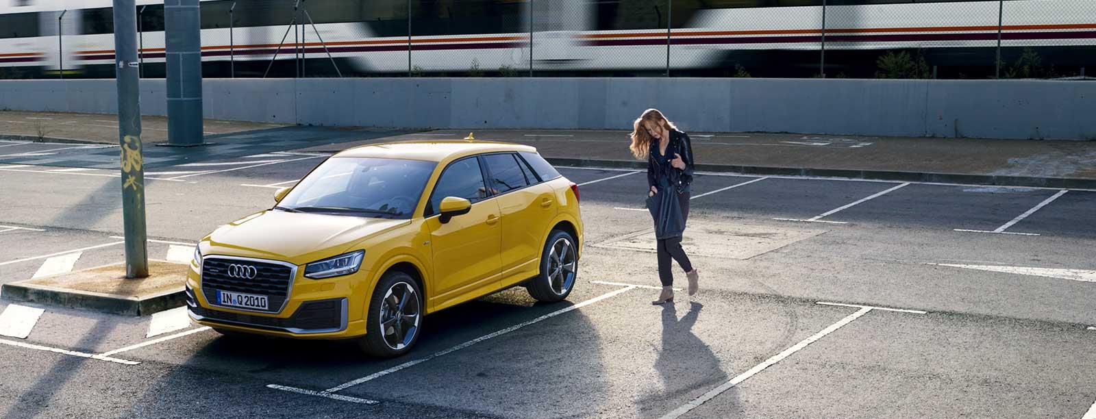 Audi Q2 aus der Q-Familie
