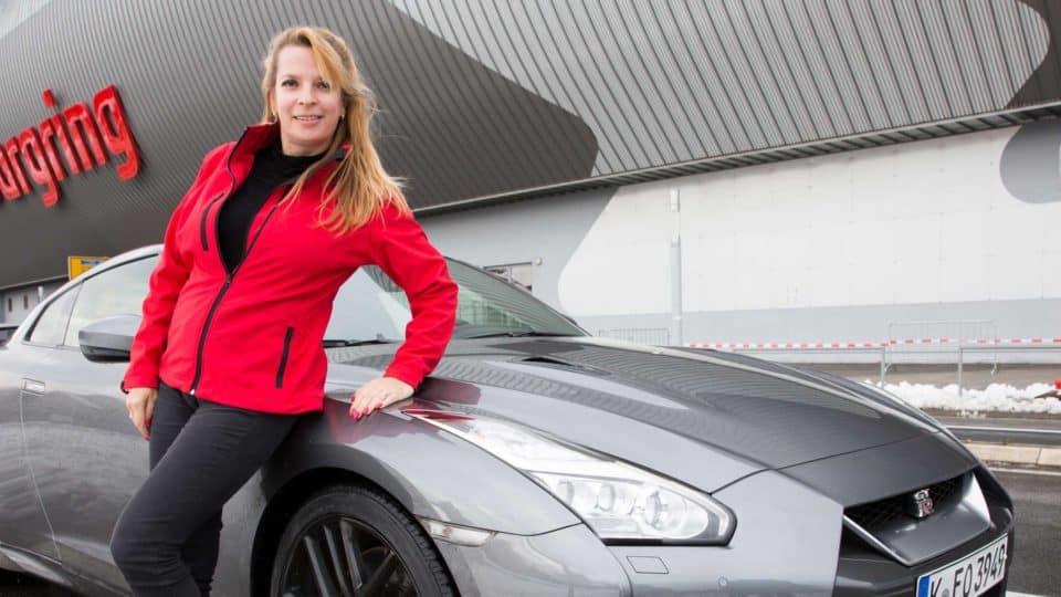 Nissan GT-R am Nürburgring
