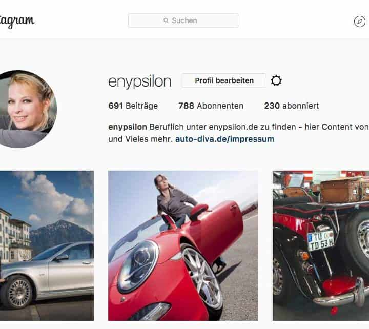 Instagram enypsilon Autofotos