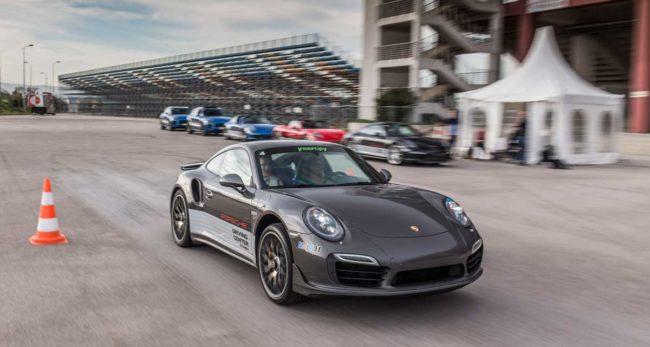 Porsche Launch Control