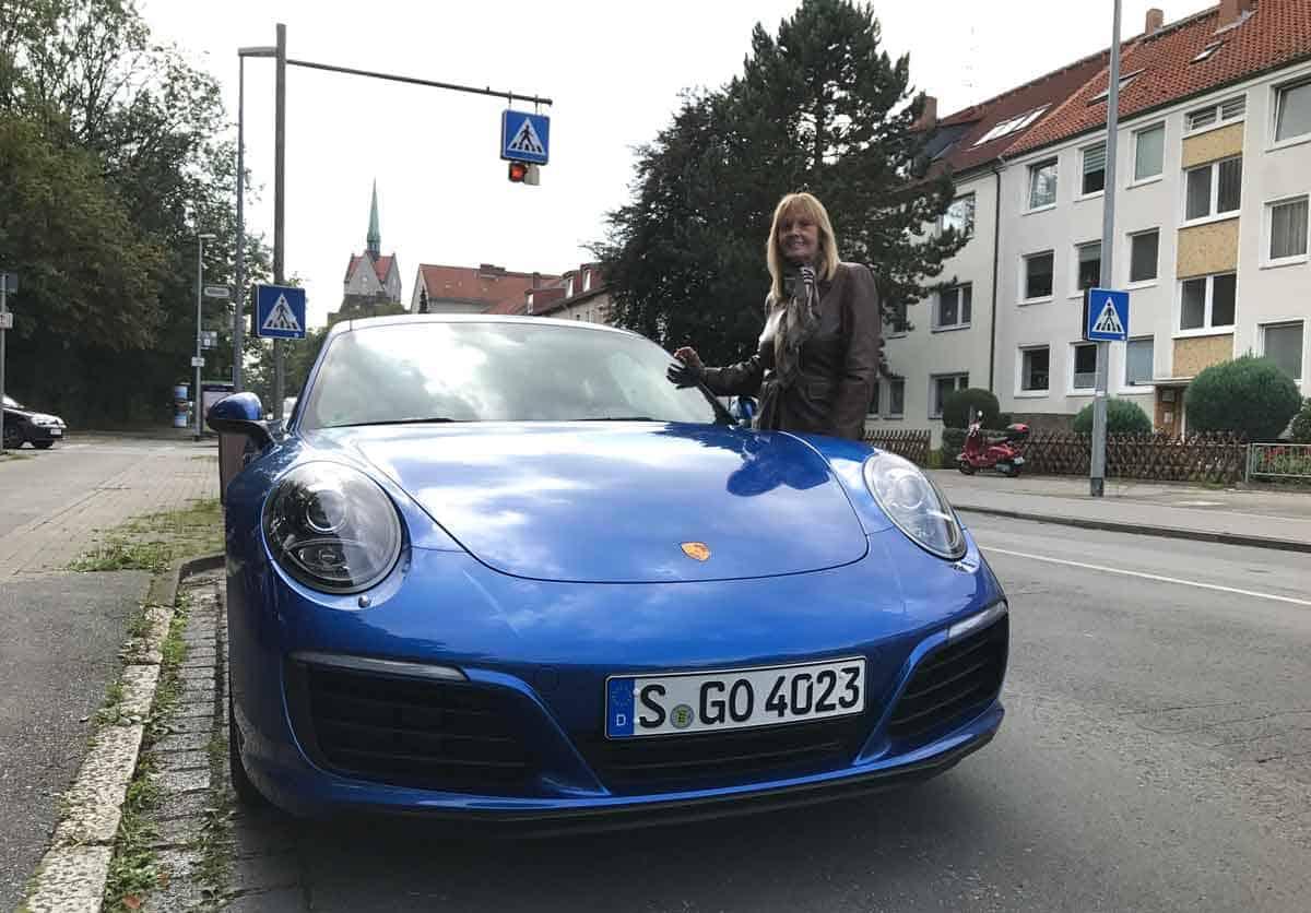 Porsche 911 Tour mit Mama