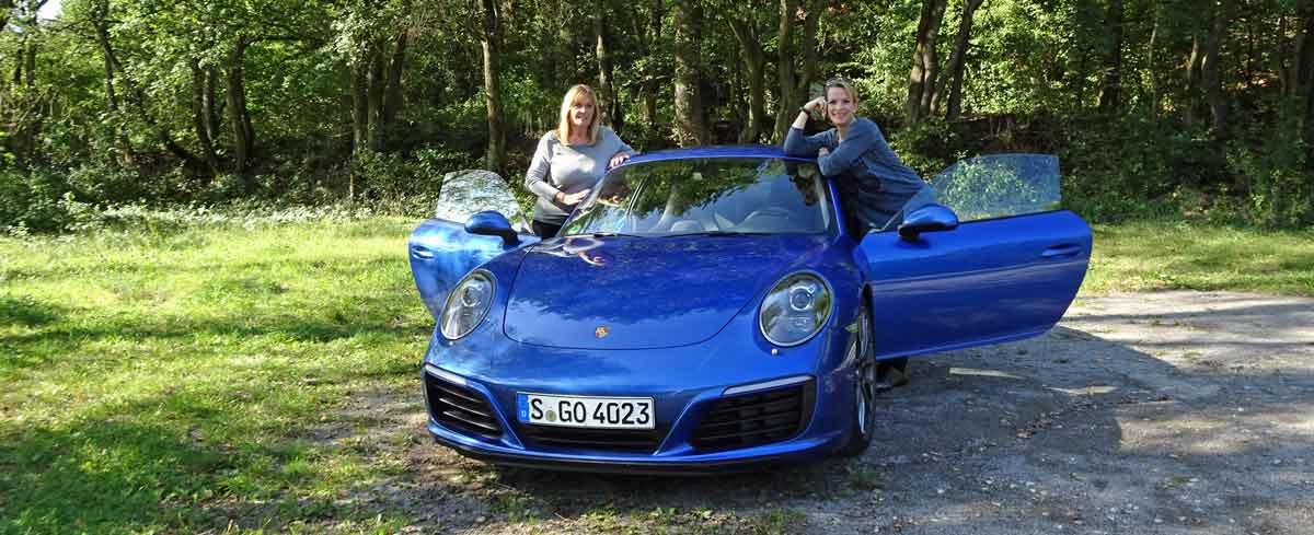 Porsche 911 im Zollernalbkreis mit Mama