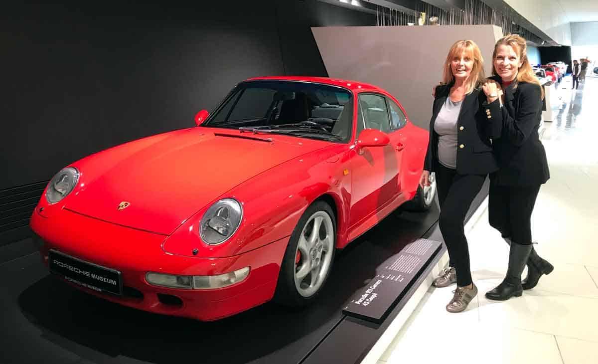 Porsche-Museum mit Mama