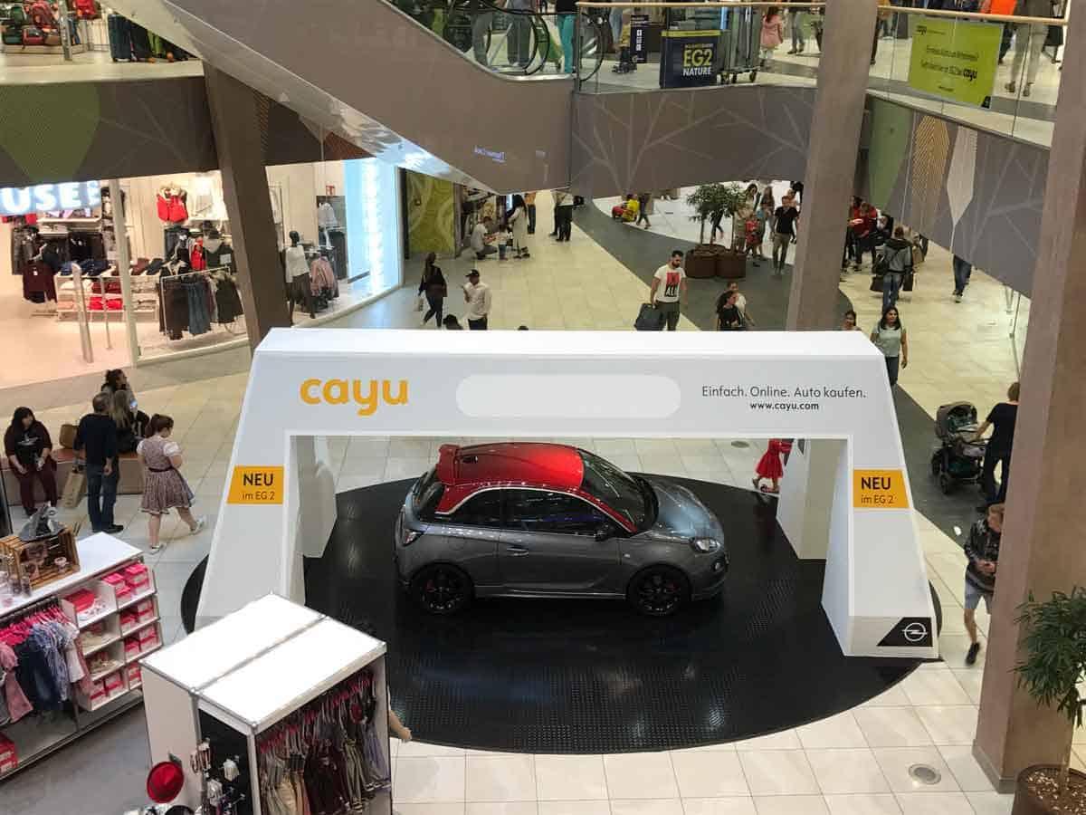 Opel Cayu Store Stuttgart Milaneo