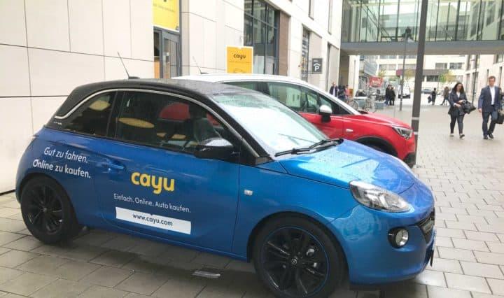 Opel Cayu Stuttgart Milaneo - Vorführwagen