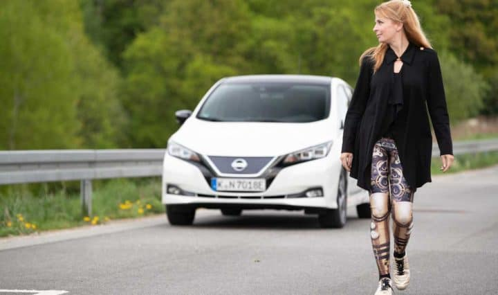 Nissan Leaf mit e-Pedal