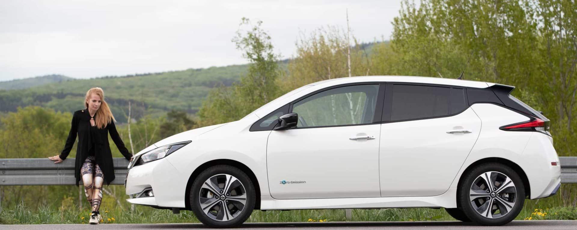 Nissan Leaf mit dem e-Pedal und Auto-Diva
