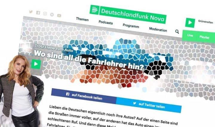 Radiointerview Deutschlandfunk Nova - Nicole Y. Jodeleit