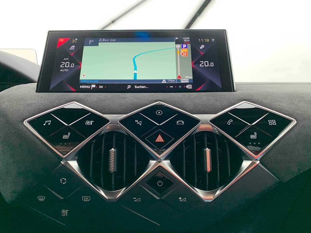 DS 3 Crossback E-Tense Touchscreen